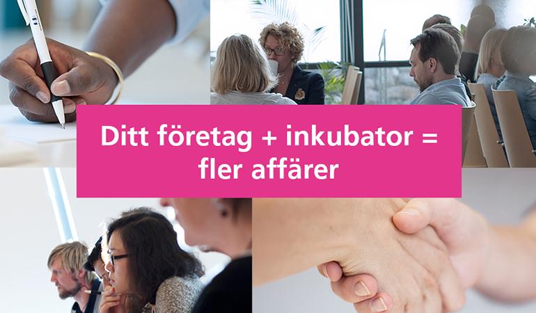 Informationsträff om Incubator i Kalmar